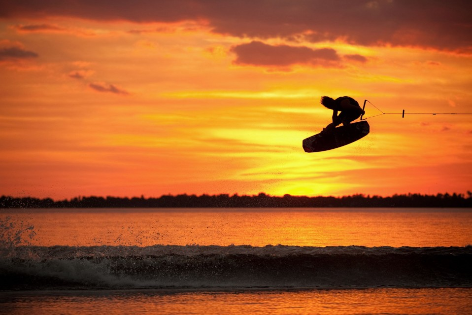 Salto en wakeboard de Lafferty